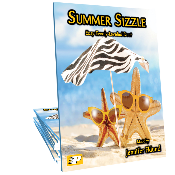 Summer Sizzle (Evenly-Leveled Easy Duet)