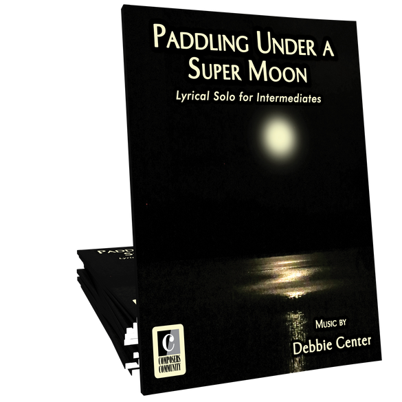 Paddling Under a Super Moon