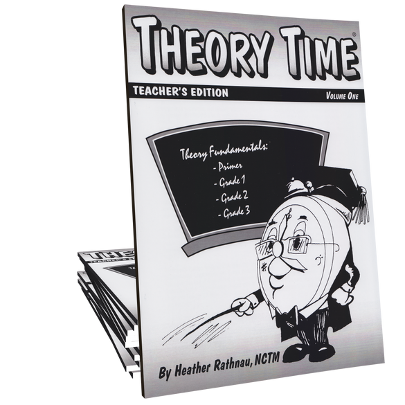 Theory Time®: Teacher's Edition Volume 1 (Primer through Grade 3)