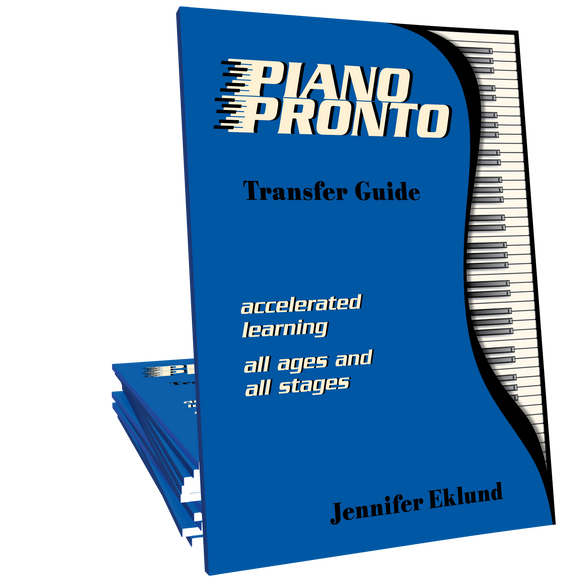 Piano Pronto® Transfer Guide (Digital Download)