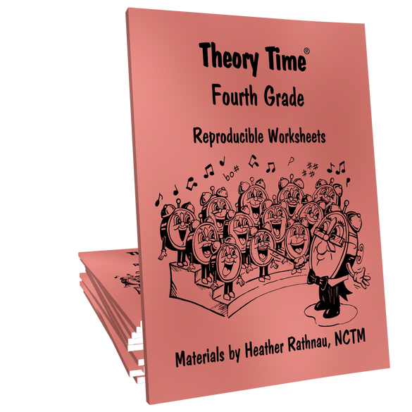 Theory Time® Reproducible Series: Fourth Grade Pack