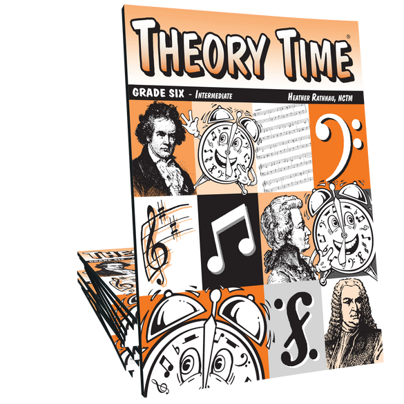 Theory Time®: Grade Six Workbook