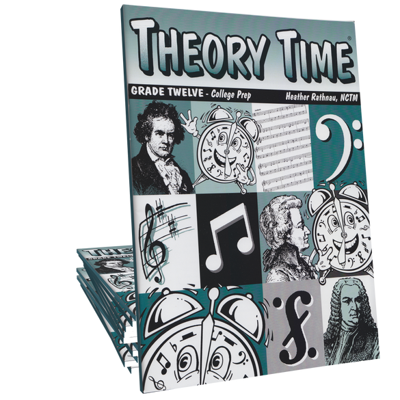 Theory Time®: Grade Twelve Workbook