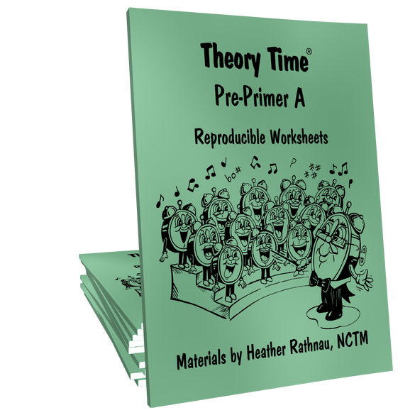 Theory Time® Reproducible Series: Pre-Primer A