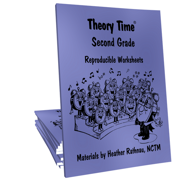 Theory Time® Reproducible Series: Second Grade Pack