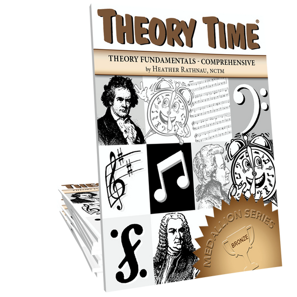 Theory Time® Medallion Series: Bronze Workbook