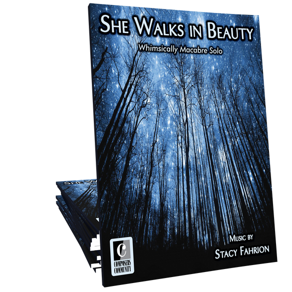 She Walks in Beauty by Stacy Fahrion