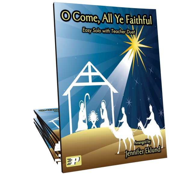 "O Come, All Ye Faithful Duet (from ""Christmas for Two"")"