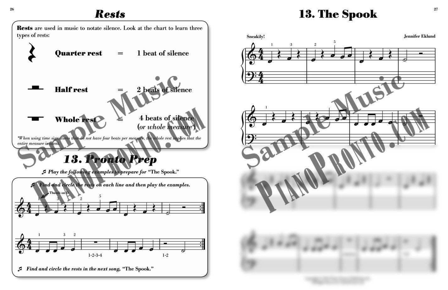Piano pronto keyboard kickoff hardcopy method book piano take a look inside fandeluxe Gallery