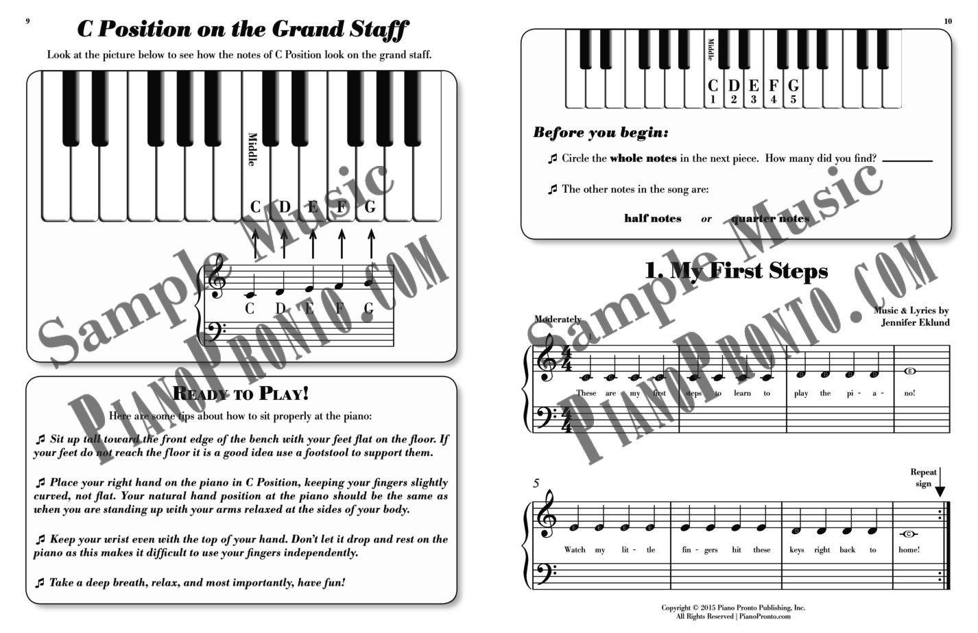 Piano Pronto®: Prelude