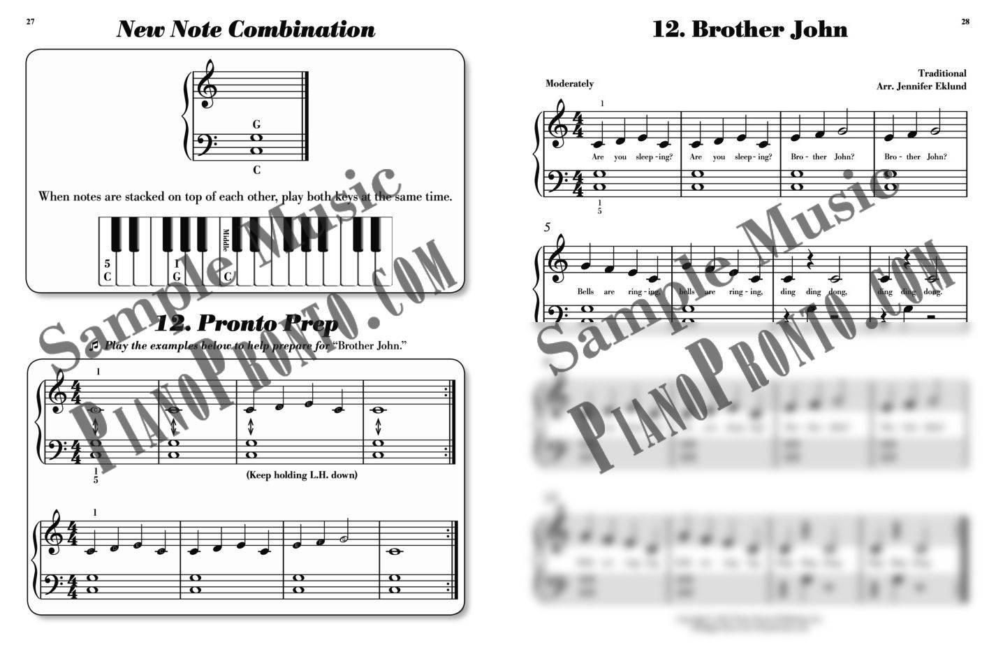 Piano pronto prelude hardcopy method book piano pronto publishing piano pronto method book guide fandeluxe Gallery
