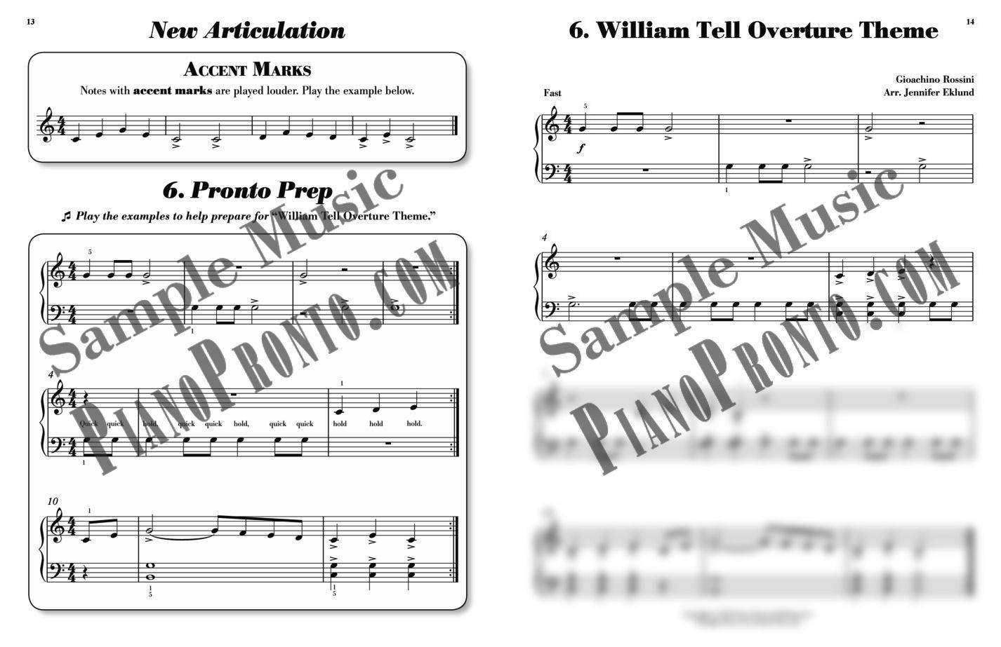 piano pronto method book guide