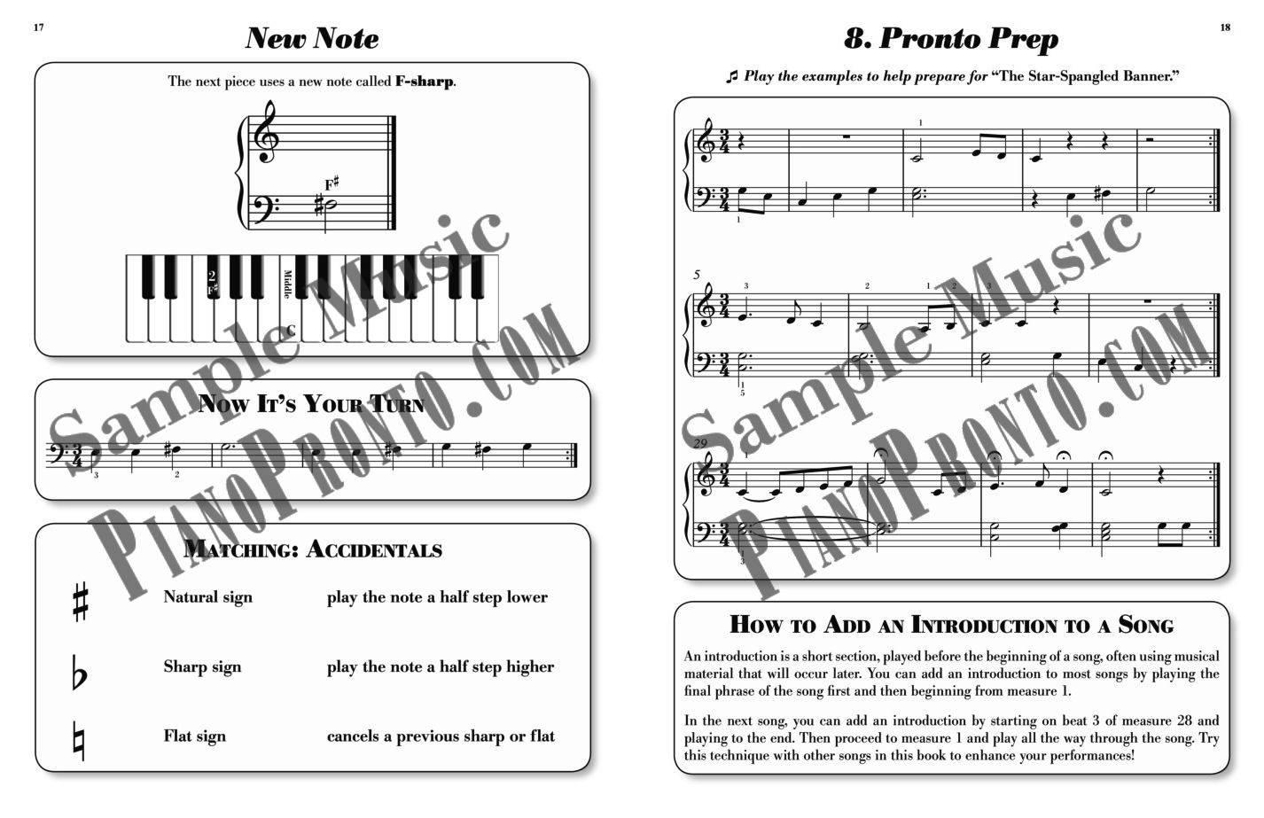 Piano Pronto®: Movement 1 | Hardcopy, Method Book | Piano Pronto ...
