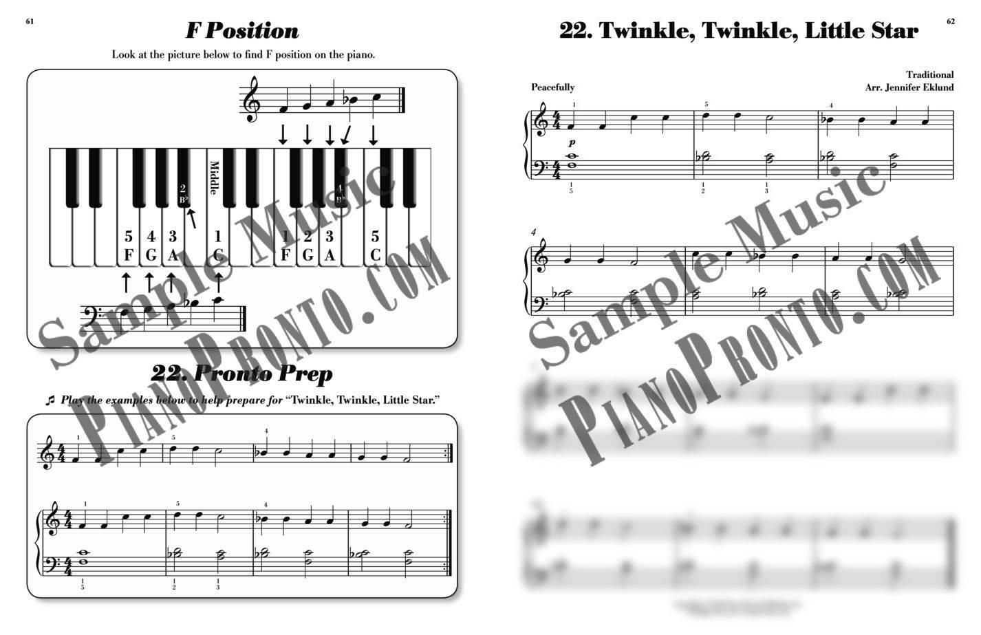 Piano pronto movement 1 hardcopy method book piano pronto piano pronto method book guide fandeluxe Gallery