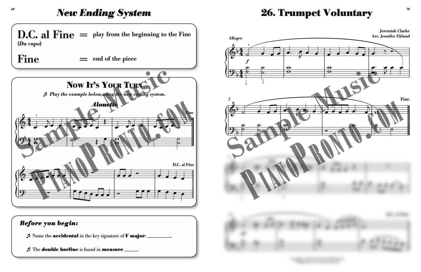 Piano Pronto Movement 1