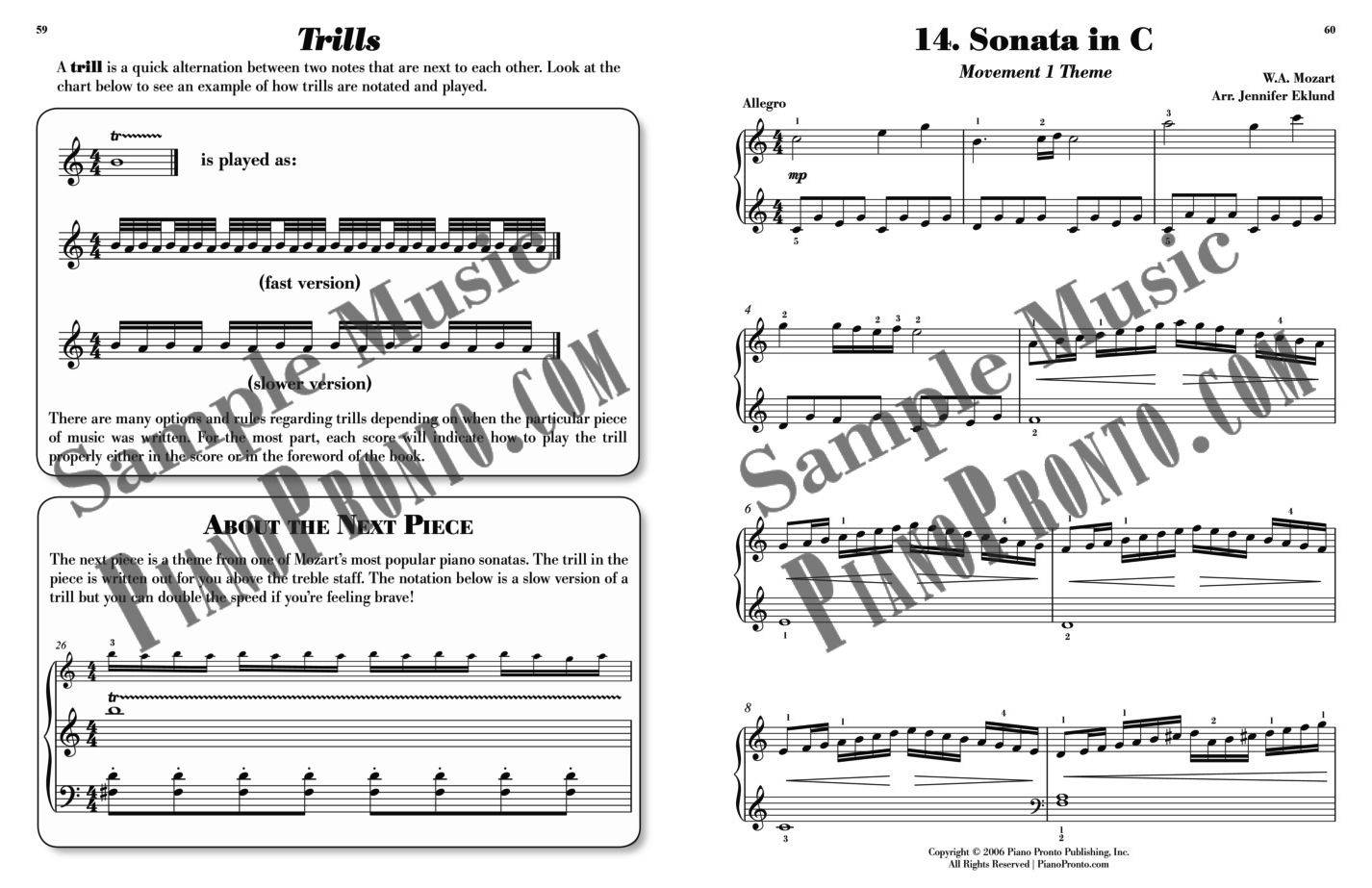 Piano Pronto®: Movement 5