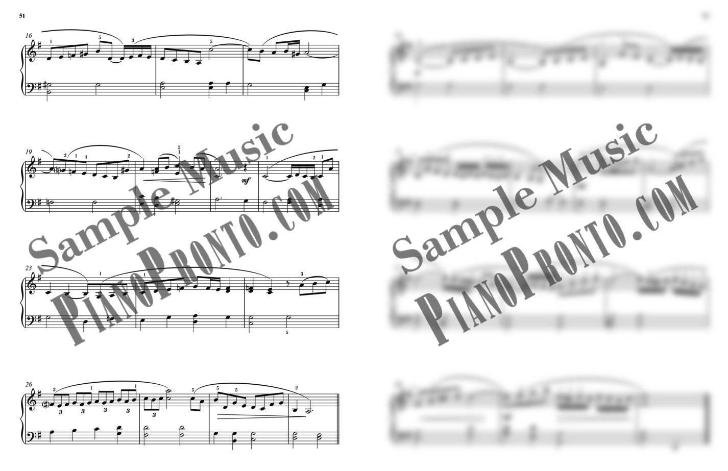 Piano Pronto®: Finale