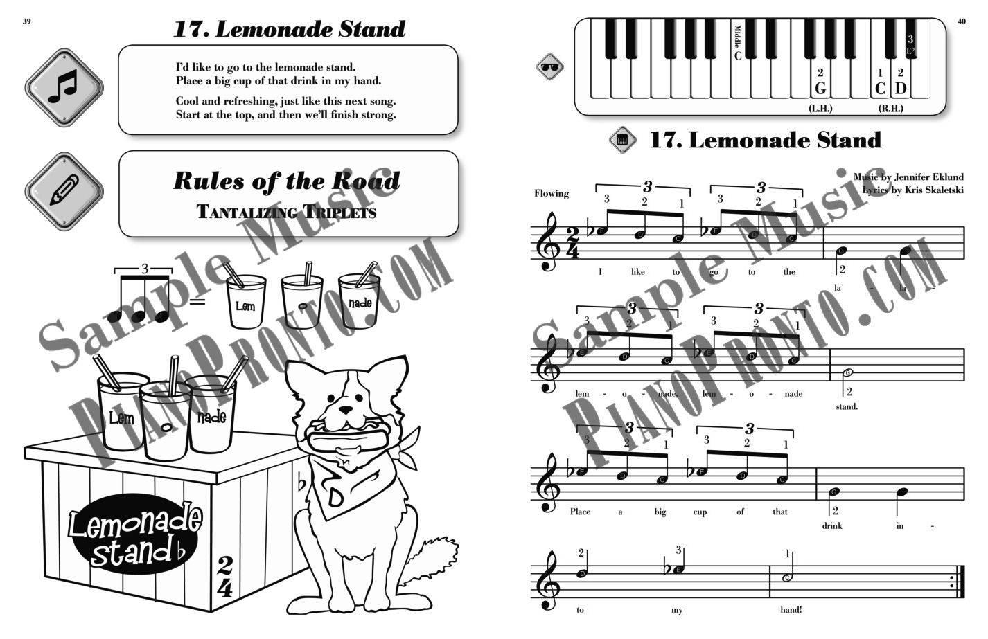 roadtrip country carnival hardcopy method book piano pronto