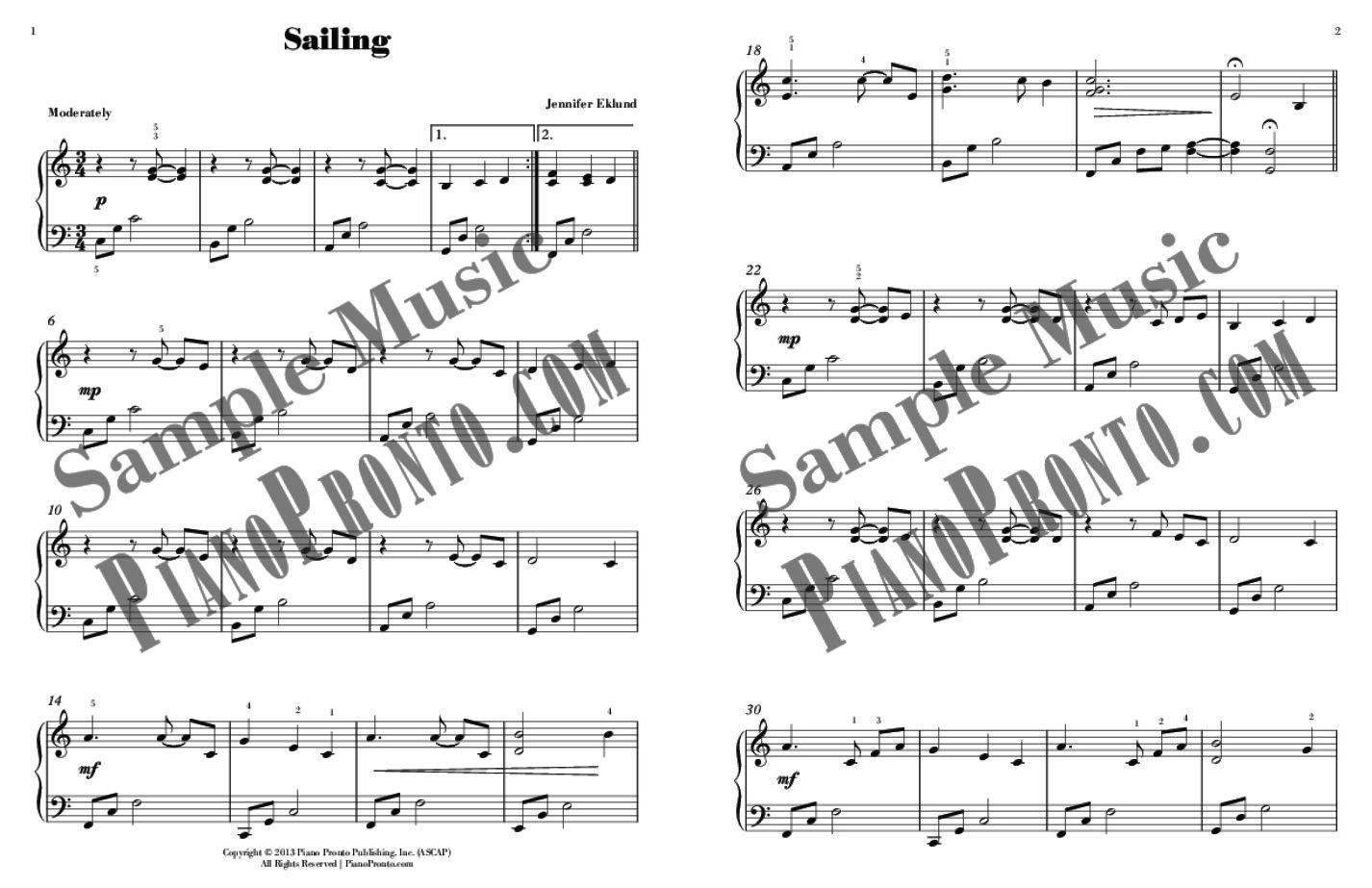 New Horizons Songbook | Hardcopy, Songbook | Piano Pronto Publishing
