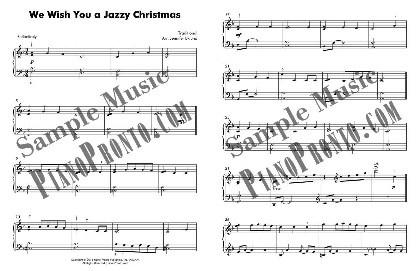 We Wish You a Jazzy Christmas | Sheet