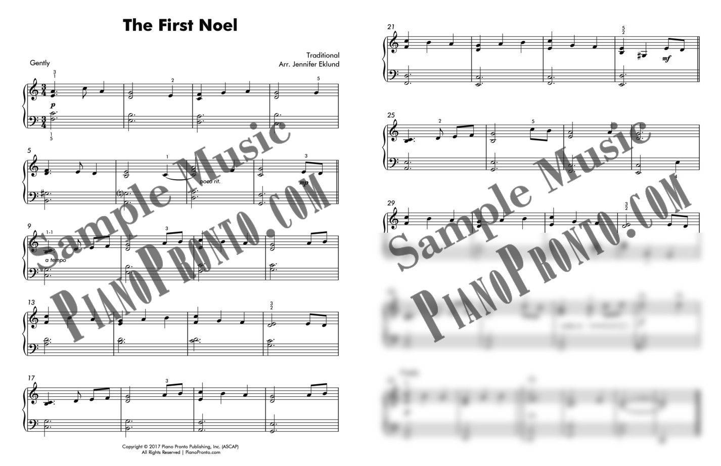 noel 2018 pps The First Noel   Lyrical Jazz Solo | Sheet Music | Piano Pronto  noel 2018 pps