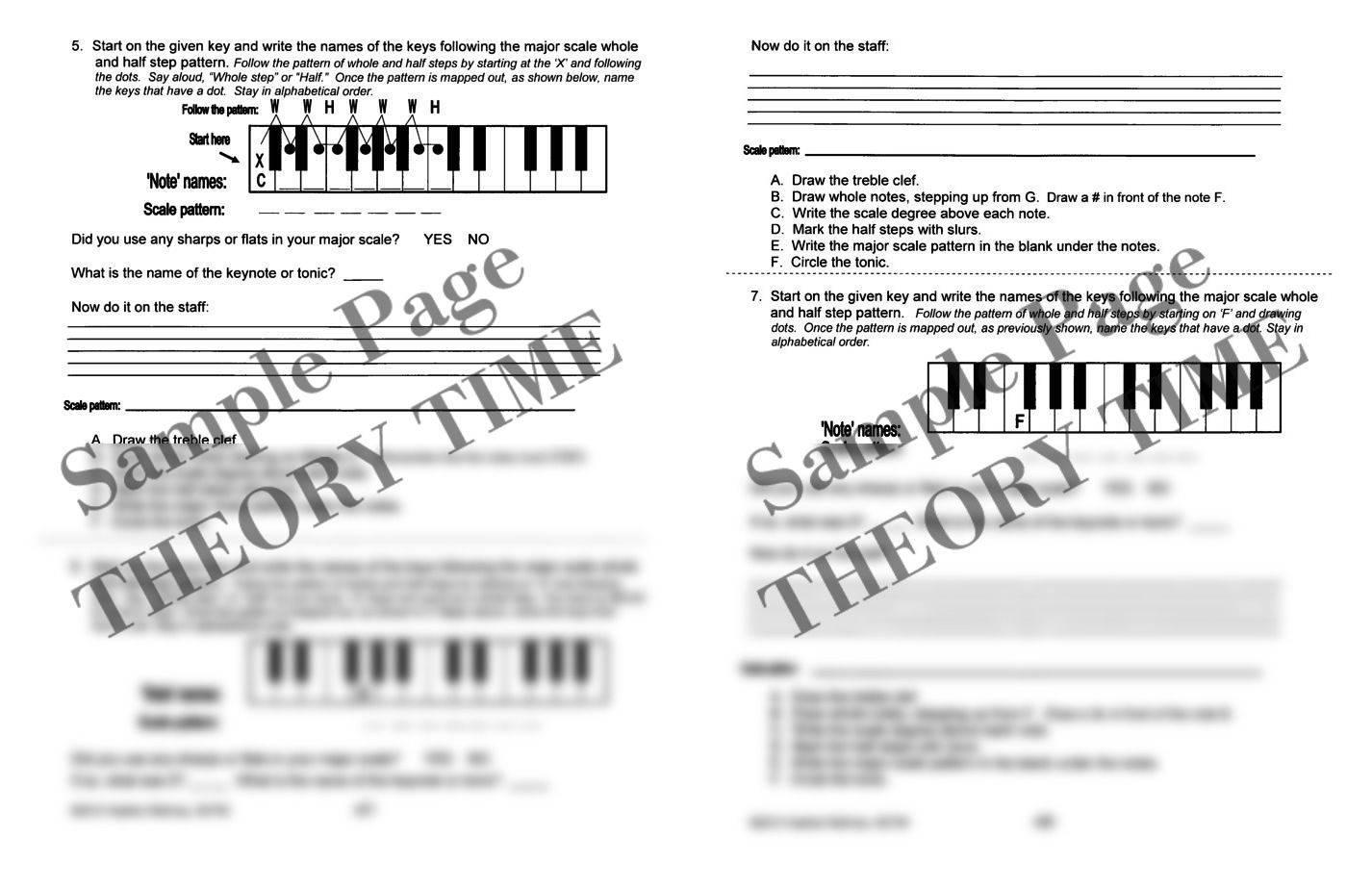 theory time medallion series bronze workbook hardcopy