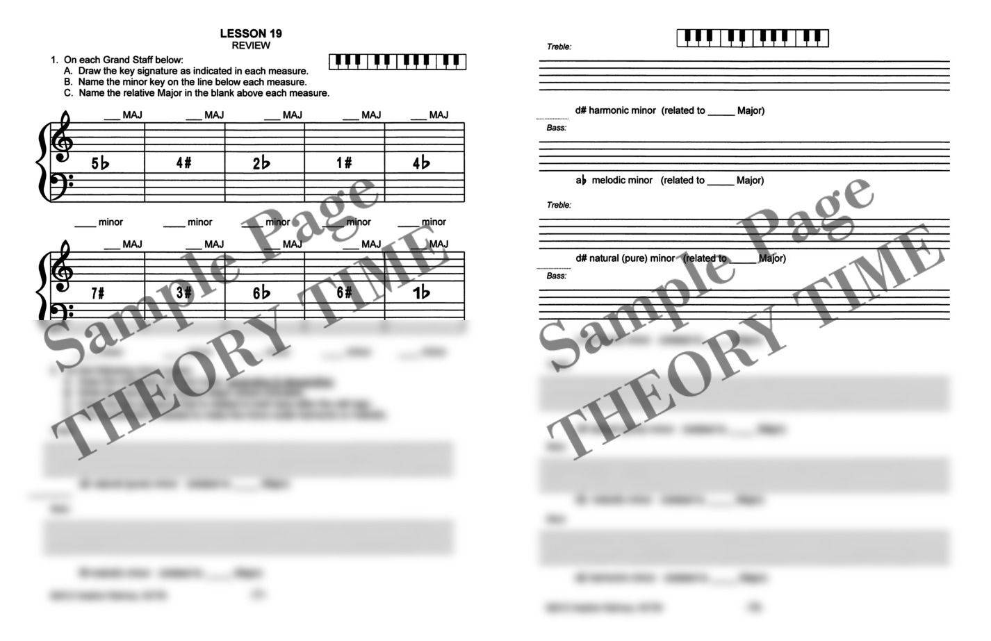 Theory Time® Medallion Series: Gold Workbook   Hardcopy, Workbook ...