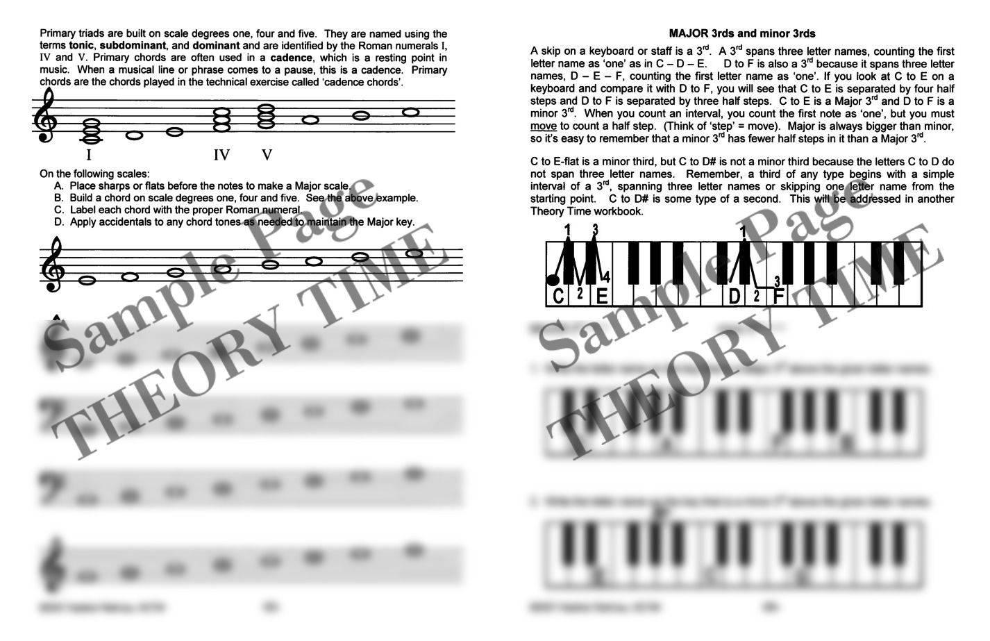 Theory Time®: Grade Four Workbook | Hardcopy, Workbook | Piano ...
