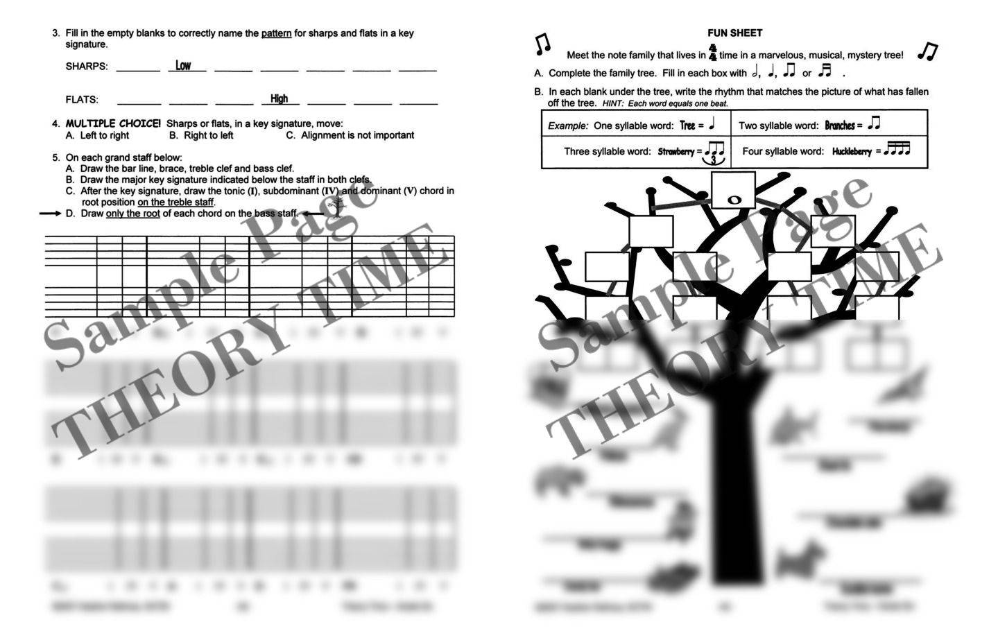 Theory Time®: Grade Six Workbook