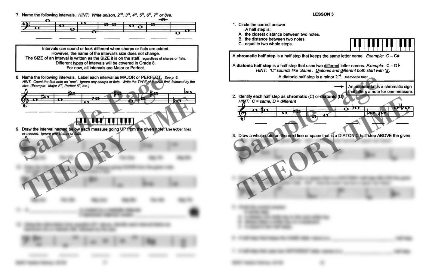 Theory Time®: Grade Seven Workbook | Hardcopy, Workbook | Piano ...