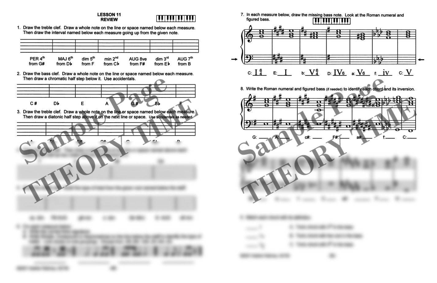 Theory time grade nine workbook hardcopy workbook piano take a look inside hexwebz Image collections