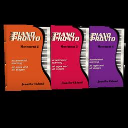 Piano Pronto® Early Intermediate Starter Pack