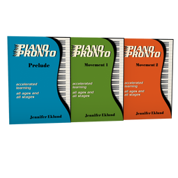 Piano Pronto® Lesson Books Combo Pack