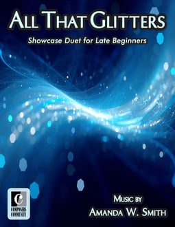 All That Glitters Easy Evenly-Leveled Duet (Digital: Single User)