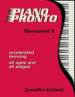 Piano Pronto®: Movement 3