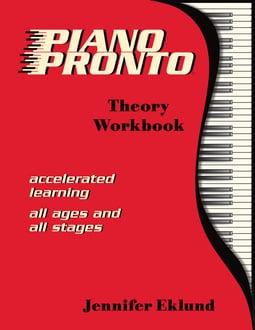 Piano Pronto®: Theory Workbook (Digital: Single User)
