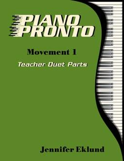 Piano Pronto® Teacher Duets: Movement 1