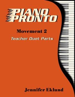 Piano Pronto® Teacher Duets: Movement 2