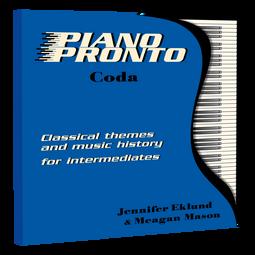 Piano Pronto® Coda: Soundtrack
