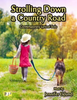 Strolling Down a Country Road