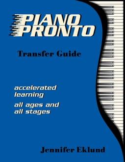 Piano Pronto® Transfer Guide