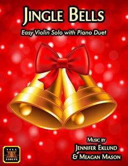 Jingle Bells Easy Violin and Piano (Digital: Single User)