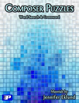 Composer Puzzles Word Search & Crossword (Digital: Single User)