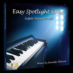 Easy Spotlight Solos: Super Soundtrack