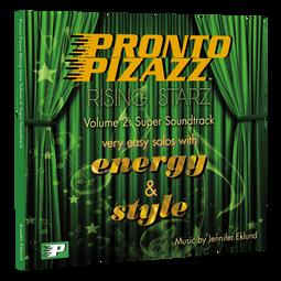 Pronto Pizazz Rising Starz Volume 2: Super Soundtrack
