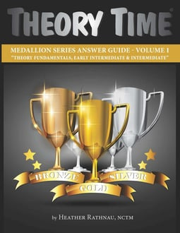 Theory Time® Medallion Series: Answer Book Volume 1