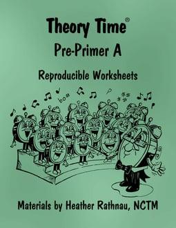 Theory Time® Reproducible Series: Pre-Primer A