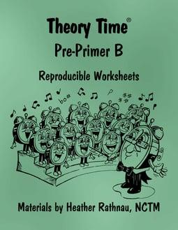 Theory Time® Reproducible Series: Pre-Primer B