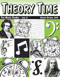 Theory Time®: Pre-Music Reader Level A