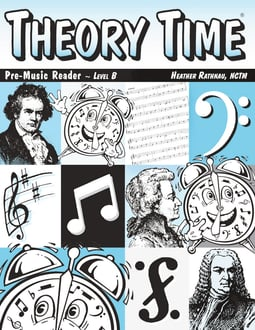 Theory Time®: Pre-Music Reader Level B